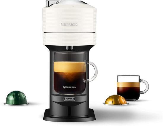 Nespresso Vertuo Next Coffee and Espresso Machine by DeLonghi, White - $161.44 MSRP