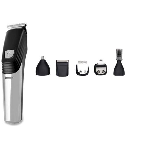 Hair Clippers for Men Cordless Clipper Rechargeable Nose Hair Trimmer 6 in 1 Grooming Kit