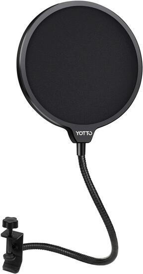 Yotto Microphone Pop Filter Studio Windscreen Mic Cover Mask Shield - $7.99 MSRP