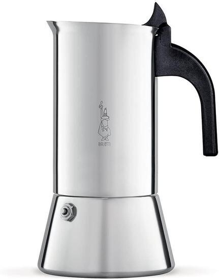 Bialetti Elegance Venus Induction 10 Cup Stainless Steel Espresso Maker - $54.79 MSRP