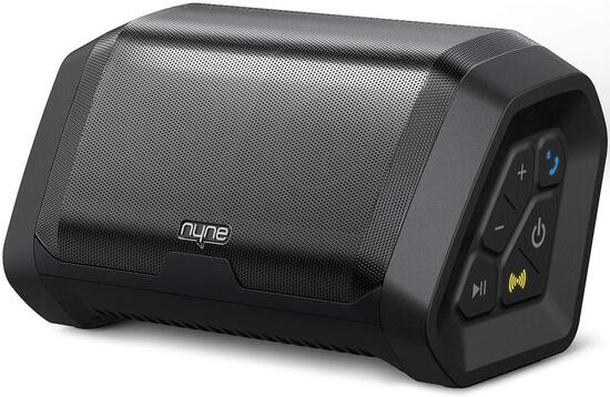NYNE Punch Portable Wireless Bluetooth Speakers 4.2 Waterproof IP67, 20 Hours Play-time- $60.00 MSRP