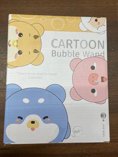 Cartoon Bubble Wand