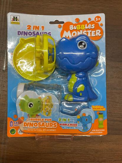 JHS 2 in 1 Dinosaurs Bubbles Monster 2 fl oz.