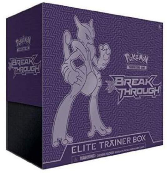 Pokemon XY8 Breakthrough Elite Trainer Box Mega Mewtwo X Sealed (B016BIIA4C) - $45.56 MSRP
