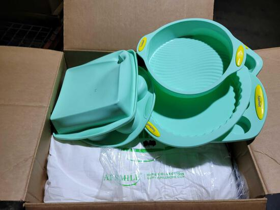 Aschef Silicone Nonstick Baking Pans and APSMILE Item