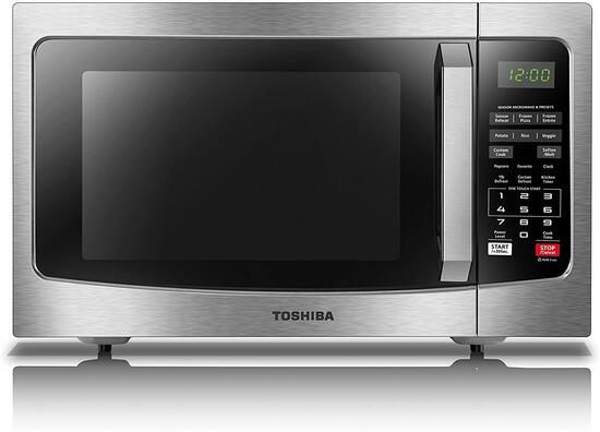 Toshiba EM131A5C-SS Microwave Oven with Smart Sensor, Easy Clean Interior, ECO Mode -$129.99 MSRP