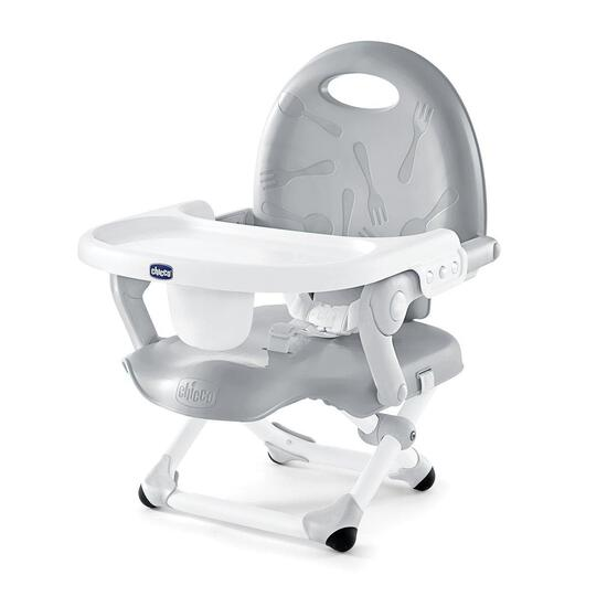 Chicco Pocket Snack Booster Seat, Grey - $29.88 MSRP