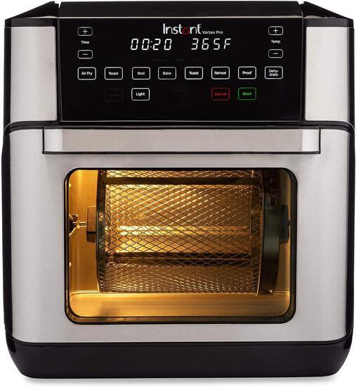 Instant Vortex Plus 7-in-1 Air Fryer Oven with built-in Smart Cooking Programs, $139.00 MSRP