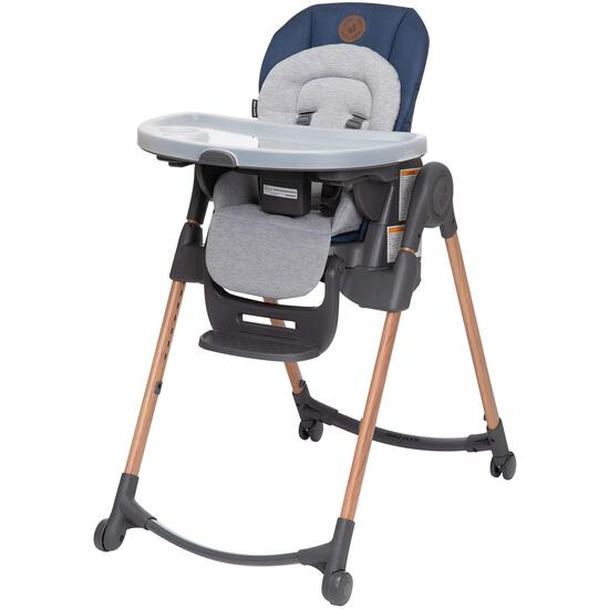 Maxi-Cosi 6-in-1 Minla High Chair, Metro-Essential Blue, One Size - $219.99 MSRP