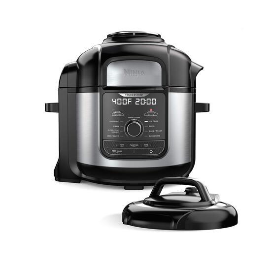 Ninja FD401 Foodi 8-Quart 9-in-1 Deluxe XL Pressure Cooker, Air Fry, Crisp, Steam, $199.99 MSRP