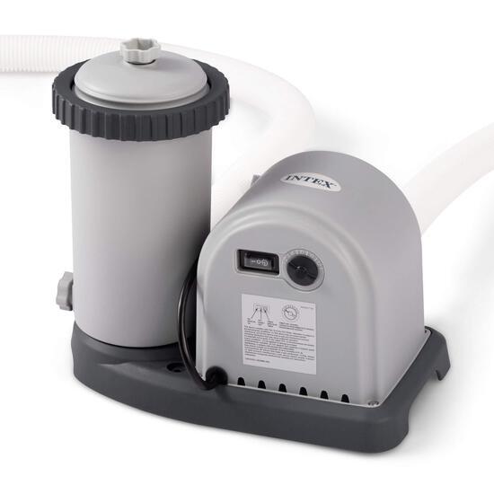 Intex 28635EG Krystal Clear Cartridge Filter Pump for Above Ground Pools - $129.99 MSRP