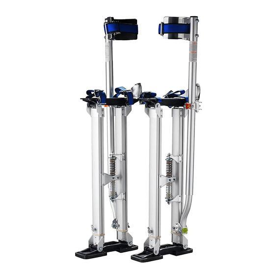 "Pentagon Tool 1119 ""Tall Guyz"" Professional 24""-40"" Drywall Stilts - $189.73 MSRP"