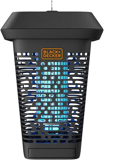 Black + Decker Electric UV Insect Catcher and Killer for Flies, Mosquitoes, Gnats - $58.49 MSRP