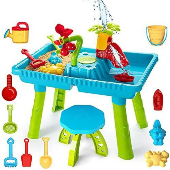 Temi Sand Water Table Outdoor Toys