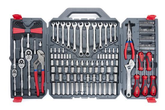Crescent 170 Piece General Purpose Tool Set - Closed Case - CTK170CMP2 - $124.99 MSRP