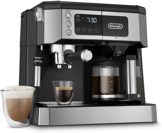 De'Longhi All-IN-One Combination Coffee Maker And Espresso Machine + Advanced - $404.89 MSRP