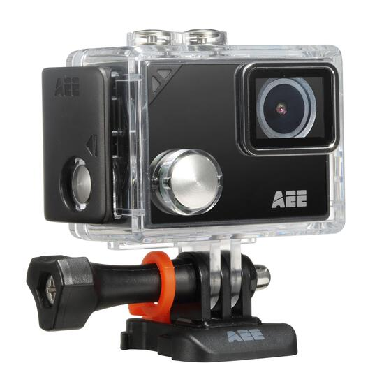 AEE LYFE Silver 4K Action Camera with Built in WiFi and Bluetooth - $129.97 MSRP