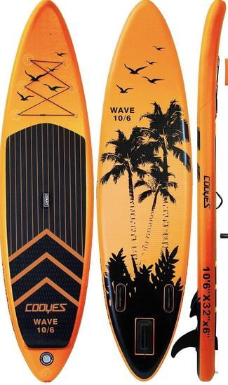 Cooyes Inflatable Stand Up Paddle Board w/ accessories..., $299 MSRP New condition