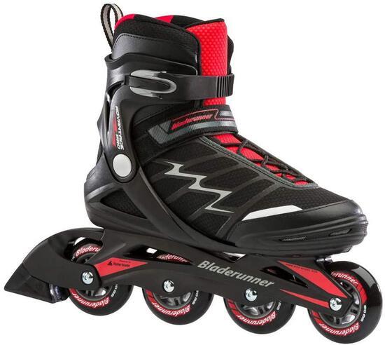 Bladerunner Advantage ProXT Men's Inline Skates, Black/Red (Size 12 US) - $79.95 MSRP