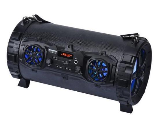 "Max Power Multi-function Portable Bluetooth 5.5"" Speaker, Black - $34.99 MSRP"