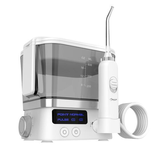 10 Level Water Pressure Foldable Mini Ultrasonic Teeth Cleaner Oral Irrigator, $120.00 (BRAND NEW)