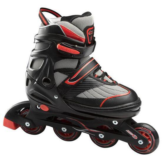 CHICAGO Blazer Jr. Boys' Adjustable Inline Skates Black/Red, Large - $49.99 MSRP