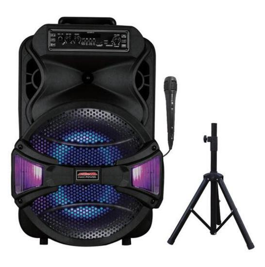 """Max Power 12"""" Speaker with Stand - $49.96 MSRP"""