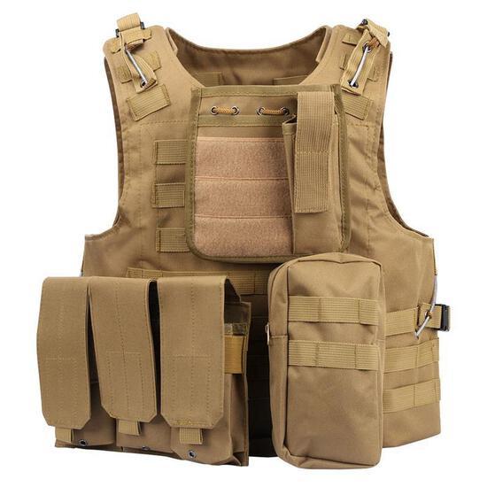 Tactical Vest Outdoor Lightweight Combat Training Vest Adjustable & Breathable (BRAND NEW), $84.99