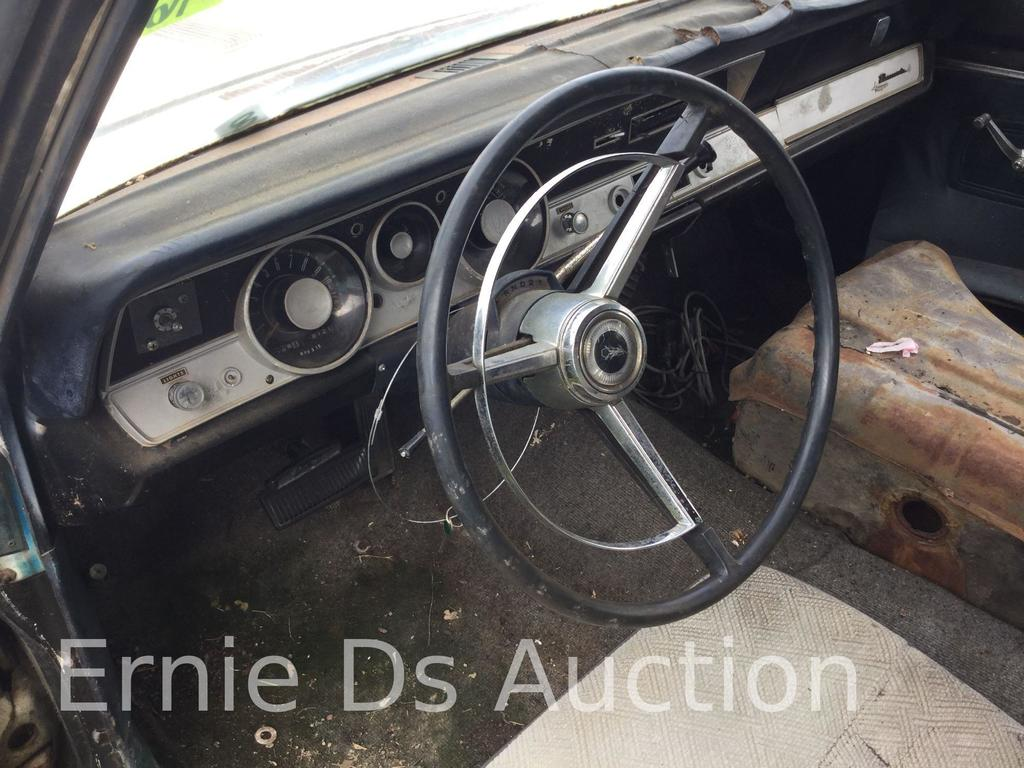 Lot: 1967 Plymouth Barracuda, Vin #: BH29D72204053