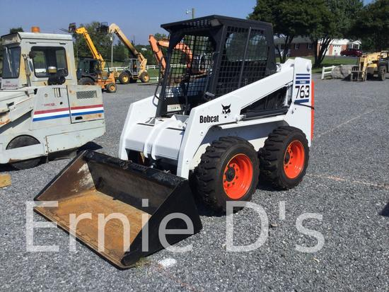 Bobcat 763 Skid Loader Auctions Online Proxibid