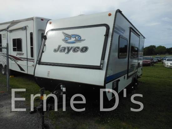 2018 Jayco Jay Feather Exp 21M Trailer, VIN # 1UJBJHBK6J1JS0058