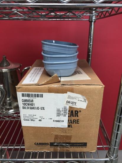 Case Of 48 Polycarbonate Bowls