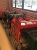 Baby seat shopping carts