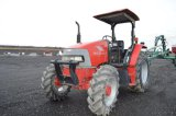 McCORMICK CX70 W/ 465 HRS, 4WD, REVERSER, FOOT THROTTLE, 1 REMOTE, 18.4/15-