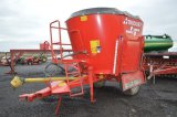TRIOLET 700 MIXER W/TRIOTRONIC 2400V SCALES, SIDE DISCHARGE, SINGLE SCREW,