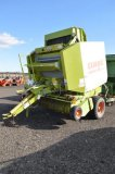 CLAAS VARIENT 180 ROTO CUT ROUND BALER, MONITOR IN OFFICE