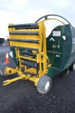 8400 ELITE STRETCH-O-MATIC TUBE WRAPPER, HYD STEERING, POWERED BY BRIGGS &
