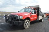 04' FORD F550, 4WD, 177,000 MI, 6.0 DIESEL W/ WORKING WINCH V.I.N.# 1FDAF57