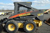 NH LS170 W/ 4,276 HRS, QUICK ATTACH, AUX. HYD, 12X16.5 TIRES, FOOT CONTROLS
