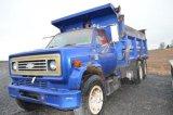 '78 CHEVY TRUCK W/ 16' DUMP, 427 CU IN MOTER, GAS, 10 WHEELER, AIR BRAKES V