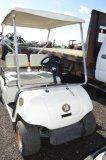 YAMAHA WHITE GOLF CART, GAS, JN6 603031