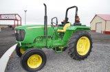 JD 5045D W/ 163 HRS, GEAR DRIVE,2WD, 1 SET REMOTES, (LIKE NEW)