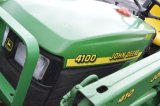 JD 4100 W/410 LOADER, 4WD, 780 HRS, PTO, HYDRO, (NICE)