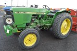 JD 1050 W/ FRONT WEIGHTS, 3,548 HRS, PTO