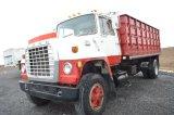 80 FORD 8000 GRAIN TRUCK W/ KNAPHEIDE 16'GRAIN STEEL GRAIN BOX, CAT DIESEL