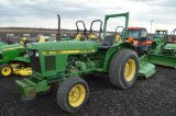 JD 850 W/4,487 HRS, 2WD, FRONT WEIGHTS, DIESEL, PTO,