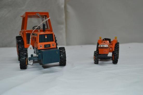 2-Kubota Tractors (1/25 scale + 1/20 scale)