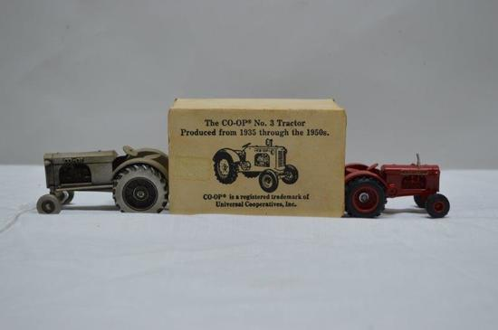 2 pieces: Co-op 3 in box; pewter w/ out box