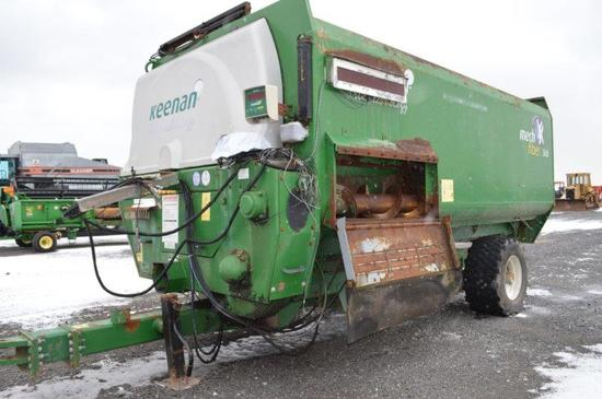 Keenan Mech fiber 360 feed mixer; 540 PTO, Stad. 04 scales, side unload, 44