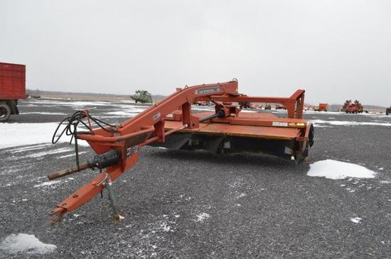 CIH 8312 discbine w/ rubber rolls, 12' cut (cutter bar needs work)